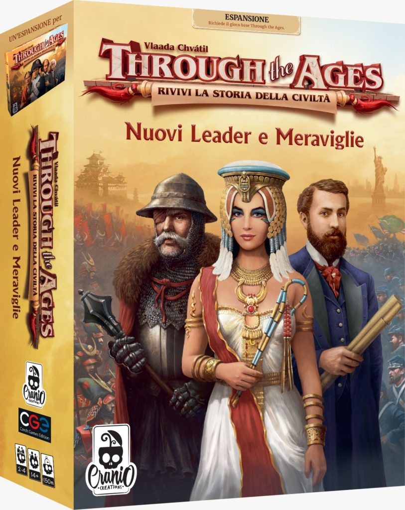 Through the Ages: Leader e Meraviglie
